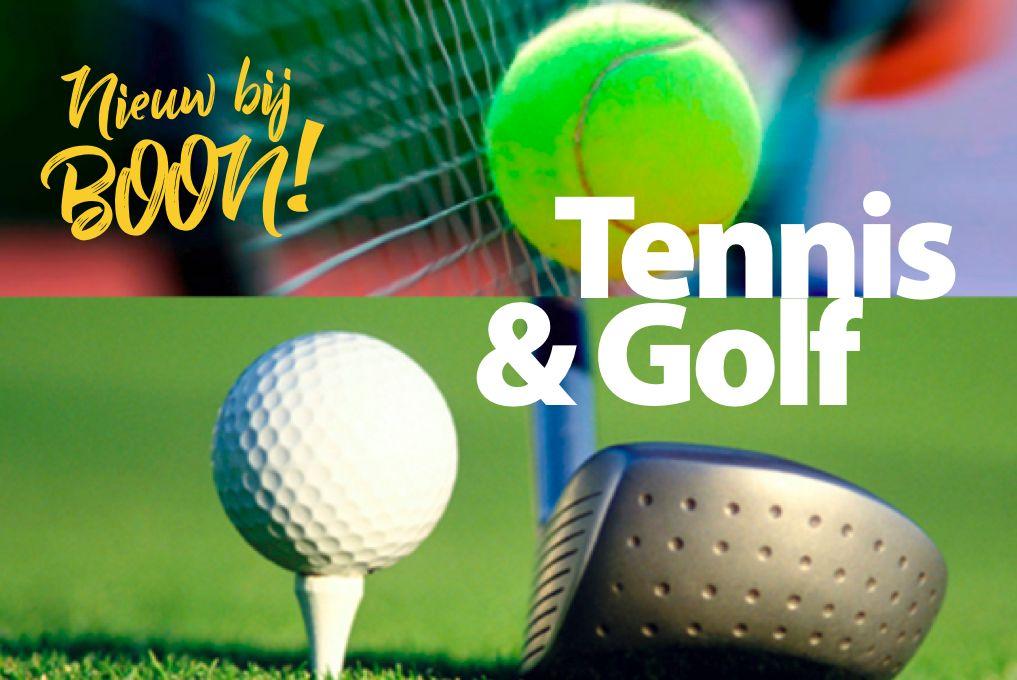 Golf & Tennis bij BSO BOON