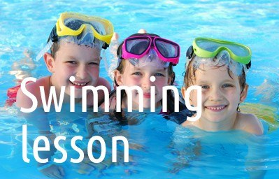 Swimming-lesson