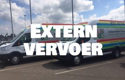 Extern-vervoer-service