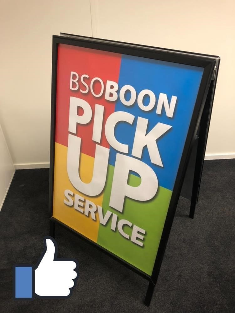 Pick up service bord BOON