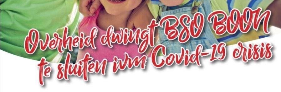 Nieuwsflits december 2020 sluiting Corona